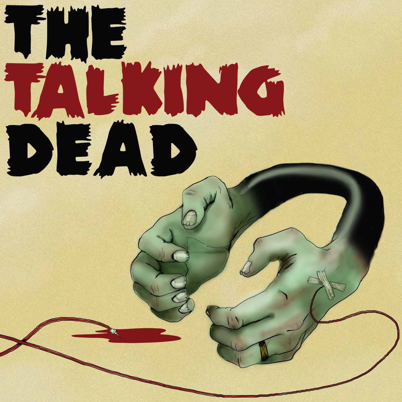 The Talking Dead - A podcast dedicated to the AMC TV series The Walking Dead Logo