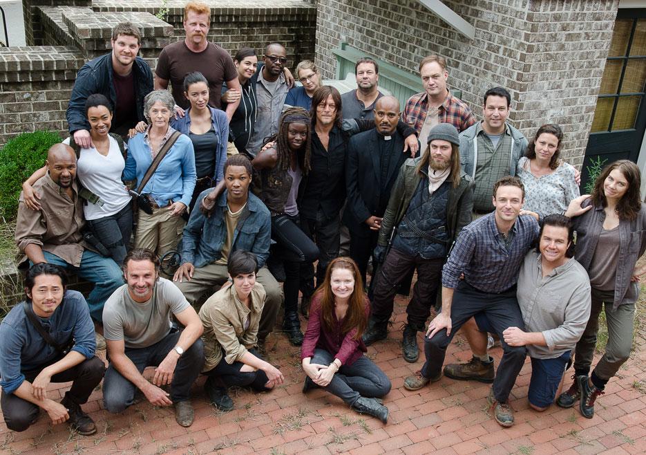 Walking dead season 1 cast